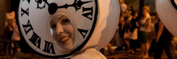 Julia Beers performing in Lullaby Moon XI